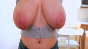 Solo large boobs & natural mature Lissa Hope good fucking