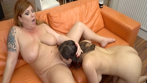 Hard fucking together with sexy Tammy Jean and Jean Val Jean