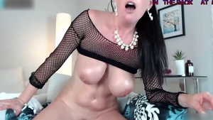 Oil european fingering live on webcam