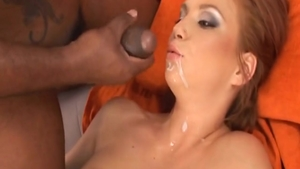 Very small tits Electra Angels swallow porn