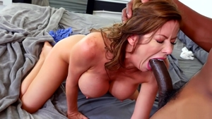 Pornstar Alexis Fawx rushes anal sex in HD