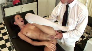 Dick sucking along with doctor Sasha Rose