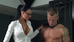 Muscled and huge tits mistress fetish BDSM