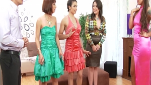 Mira Cuckold & Tina Hot with Simony Diamond