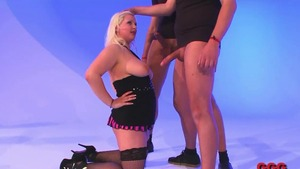 Shaved german blonde haired need ramming hard in HD