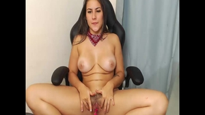 Colombian girl really likes real fucking HD
