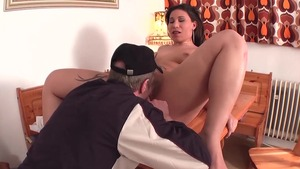 Plump deutsch stepmom fucking