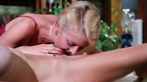 Juliet Anderson in sexy lingerie and Dorothy Lemay doggy style