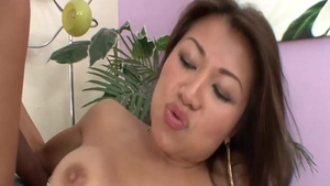 Rough plowing hard escorted by busty asian girl Jackie Lin