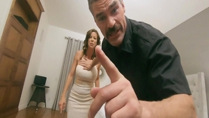 Erotic pornstar Alexis Fawx feels up to dick sucking