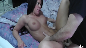 Cumshot escorted by kinky amateur Athina Love
