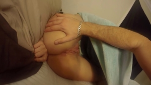 Shaved pussy girl likes hard ramming in HD