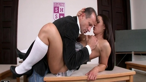 Babe Athina Love getting facial