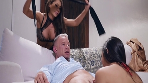 Fucking hard with sexy Anna Di as well as big ass Dahlia Sky