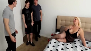 BBW Ava Rose has a passion for gangbang
