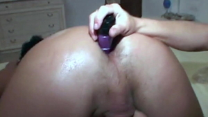 Cum in mouth among big butt italian MILF in sexy lingerie HD