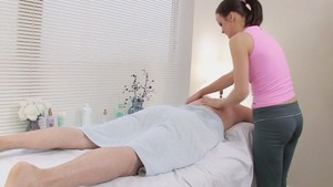 this fellow Paid For His Massage By fucking Her
