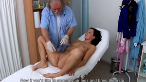 Medical rough sex in company with doctor