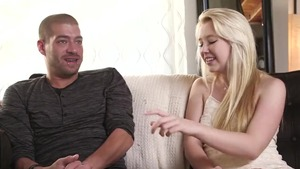 Young Samantha Rone cum on face seduced