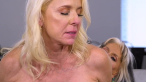 First time 3some accompanied by Rita Daniels