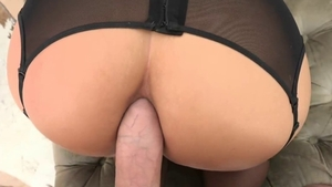 Phoenix Marie and David Perry POV deepthroat