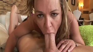 Hard slamming in company with super hot mature