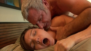 Beautiful young coed Natalie Monroe hard pussy fucking in HD