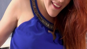 Redhead Amarna Miller pussy eating