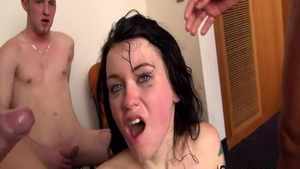 Very sexy brunette Misha Cross crazy ass pounded