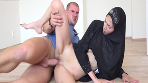 Big ass arab rough pussy eating