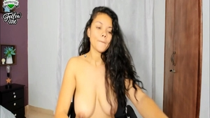 Large tits very sexy latina babe ass pounded on web-cam