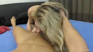 Hard nailining together with pretty australian blonde babe