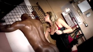 Fetish hard nailining along with busty blonde Katie Kox