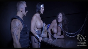 Huge tits stepmom Christina Carters goes for chained