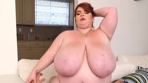 The best sex accompanied by big boobs redhead Lexxxi Luxe