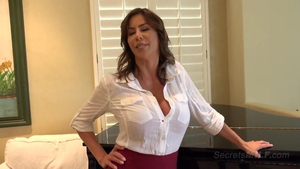 Huge boobs Alexis Fawx MILF doggy fuck sex tape