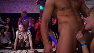 European stepmom group sex at the party