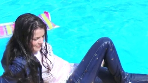 Tight russian teen chick agrees to orgy HD