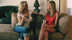 Julia Ann as well as Molly Bennet toys action in HD