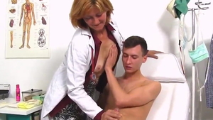 Real fucking accompanied by young czech mature