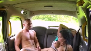 Alexxa Vice cumshot outdoors