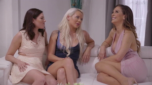 Emily Willis accompanied by India Summer threesome