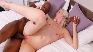 Rough nailing together with Lexi Lou along with Black Guy