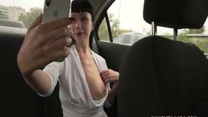 Naughty Lada is really busty MILF