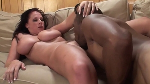 Gagging together with natural pawg