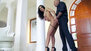 Nailing together with tight babe Kitana Lure