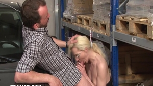 Desperate french blonde haired need gets raw sex
