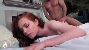 Redhead has a passion for the best sex