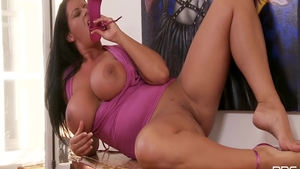 Busty Rebecca Jessop has a taste for rough nailing