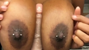 Sex with toys on live cam big butt ebony